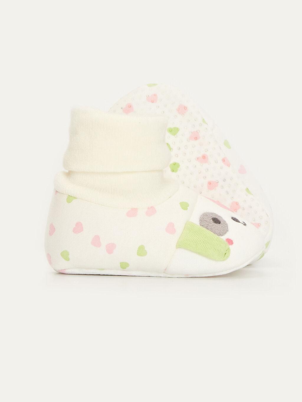 Kız Bebek Kız Bebek Çoraplı Ev Ayakkabısı