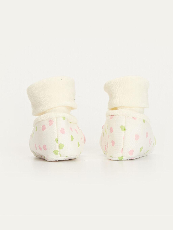 Kız Bebek Çoraplı Ev Ayakkabısı