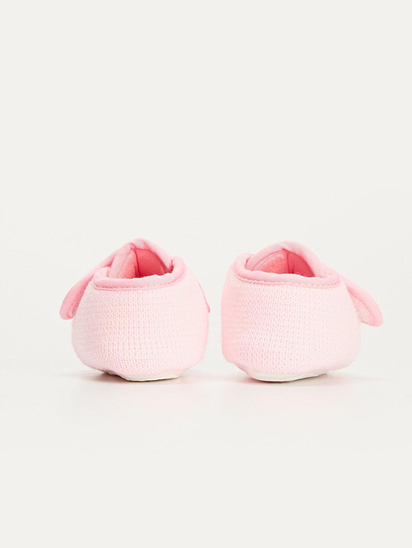 Kız Bebek Pamuk Astarlı Ev Ayakkabısı