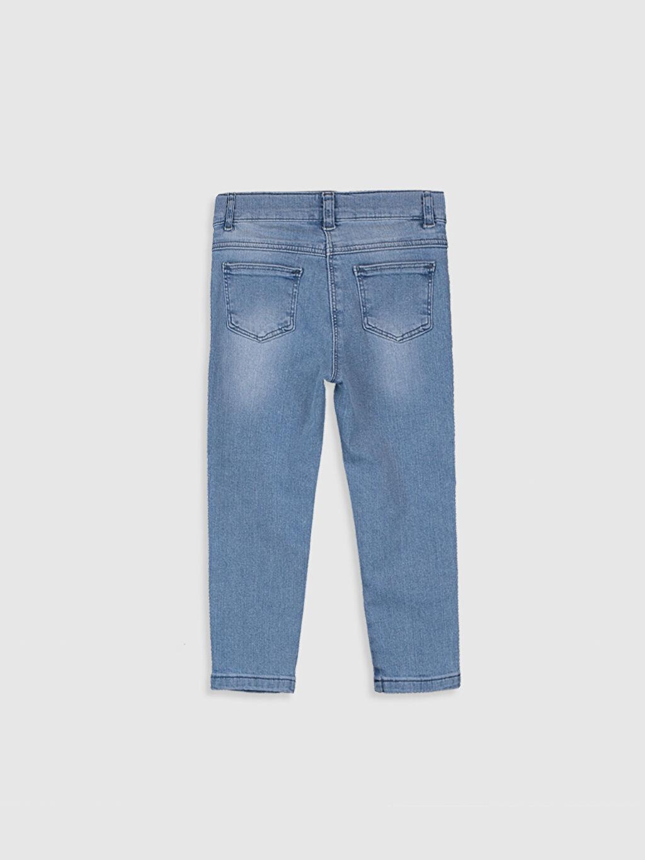 Normal Bel Düz Standart Jean Standart Astarsız Kız Bebek Jean Pantolon