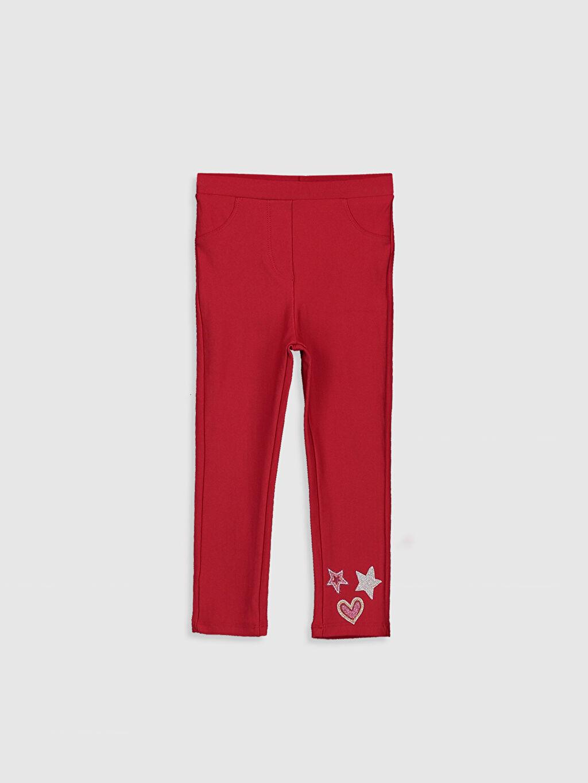 Kırmızı Kız Bebek Tayt 9WQ943Z1 LC Waikiki