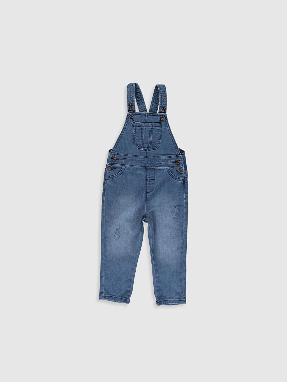 %98 Pamuk %2 Elastan Salopet Aksesuarsız Standart Astarsız Beş Cep Normal Jean