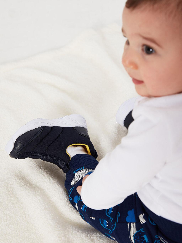 Tekstil malzemeleri Diğer malzeme (poliüretan) Tekstil malzemeleri Günlük Bağcıksız Sneaker Kısa Erkek Bebek Günlük Spor Ayakkabı