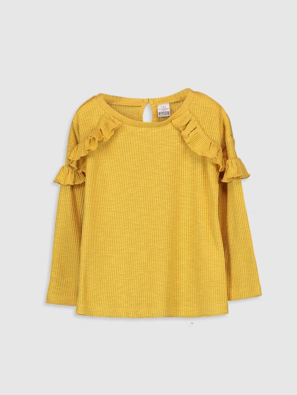 Sarı Kız Bebek Tişört 9WT614Z1 LC Waikiki
