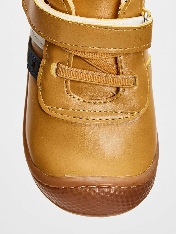 Sarı Anatomik Tabanlı İlk Adım Ayakkabısı