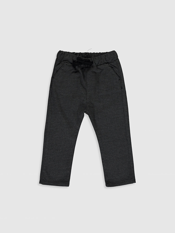 Siyah Erkek Bebek Ekose Kalın Pantolon 9WV271Z1 LC Waikiki