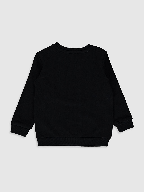 %84 Pamuk %16 Polyester Düz Süprem Aksesuarsız Sweatshirt Sweatshirt Standart Batman Bisiklet Yaka Erkek Bebek Batman Desenli Sweatshirt