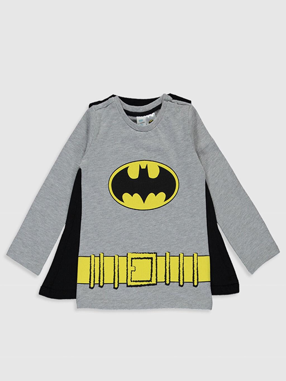 Erkek Bebek Erkek Bebek Batman Baskılı Takım 4'lü