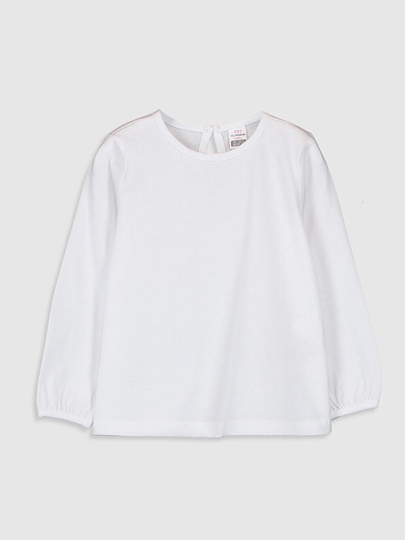 Beyaz Kız Bebek Basic Tişört 9WY785Z1 LC Waikiki