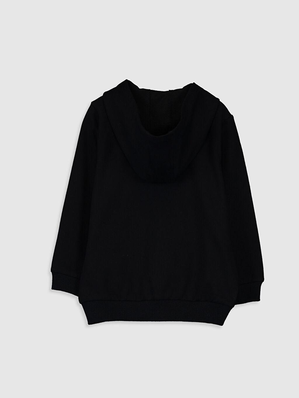 %82 Pamuk %18 Polyester Düz Spor Hırka Kapüşon Yaka İnce Sweatshirt Kumaşı Standart Erkek Bebek Kapüşonlu Fermuarlı Sweatshirt