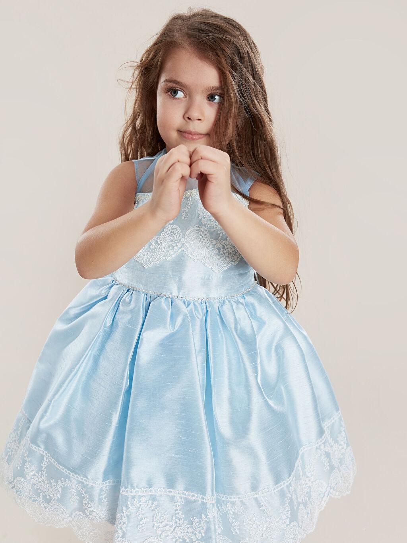 Mavi Daisy Girl Kız Çocuk Kostüm 9WB706Z1 LC Waikiki