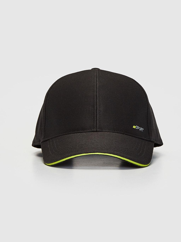 %100 Polyester %100 Polyester Kep Logo Günlük Şapka Logo Detaylı Tenis Şapkası