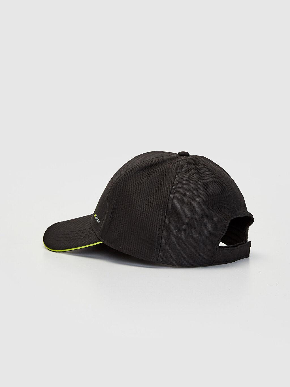 Erkek Logo Detaylı Tenis Şapkası