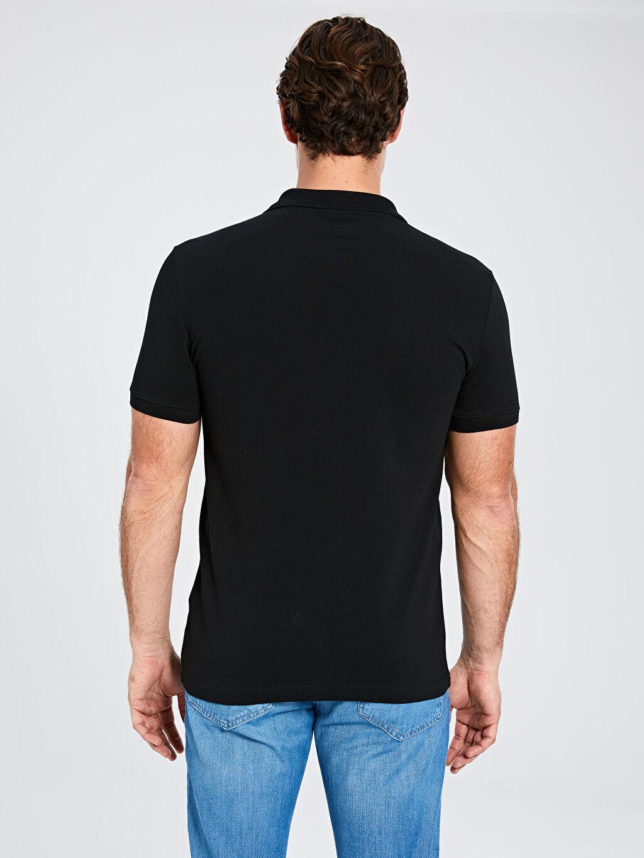 Erkek Polo Yaka Kısa Kollu Basic Pike Tişört