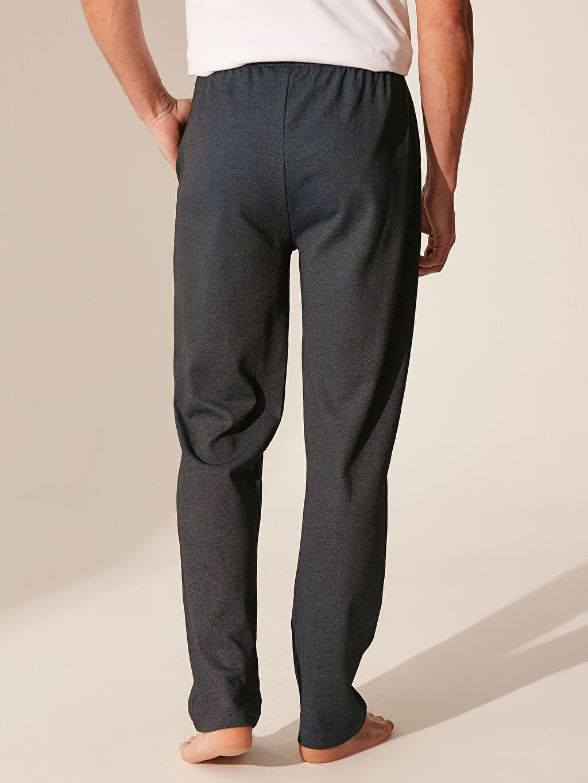 %79 Pamuk %21 Polyester Standart Kalıp Pijama Altı