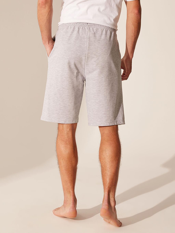 %49 Pamuk %51 Polyester Standart Kalıp Şort Pijama Altı