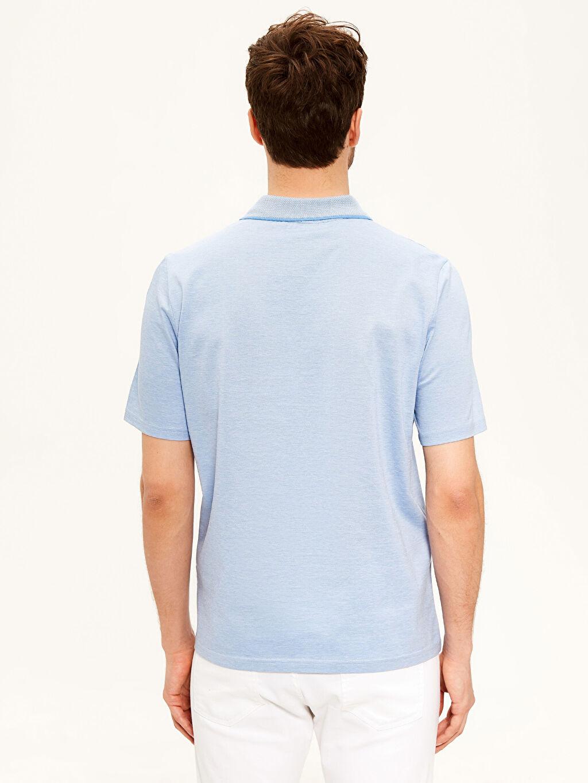 Erkek Polo Yaka Basic Merserize Tişört