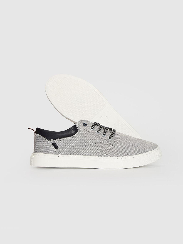 %0 Diğer malzeme (pvc) %0 Tekstil malzemeleri (%100 pamuk) Düz Sneaker Dokuma Astar Standart Bağcık EVA Günlük Erkek Bağcıklı Günlük Ayakkabı
