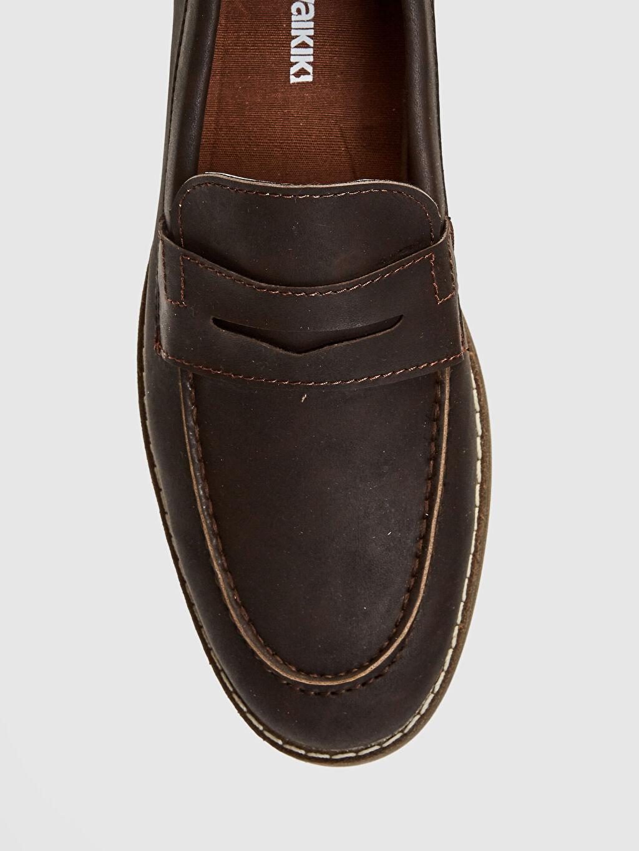LC Waikiki Kahverengi Erkek Klasik Loafer Ayakkabı