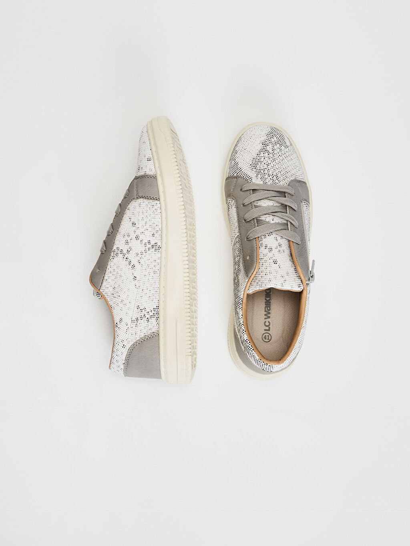 Diğer malzeme (pvc) Sneaker Standart Bağcık Günlük Koku Yapmayan İç Taban Hafif Penye Astar Erkek Fermuar Detaylı Sneaker