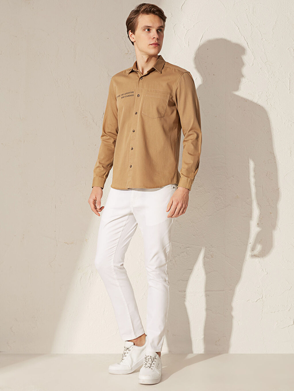 %97 Pamuk %3 Elastan Orta Kalınlık Normal Bel Astarsız Beş Cep Jean Ekstra Dar 760 Skinny Fit Jean Pantolon