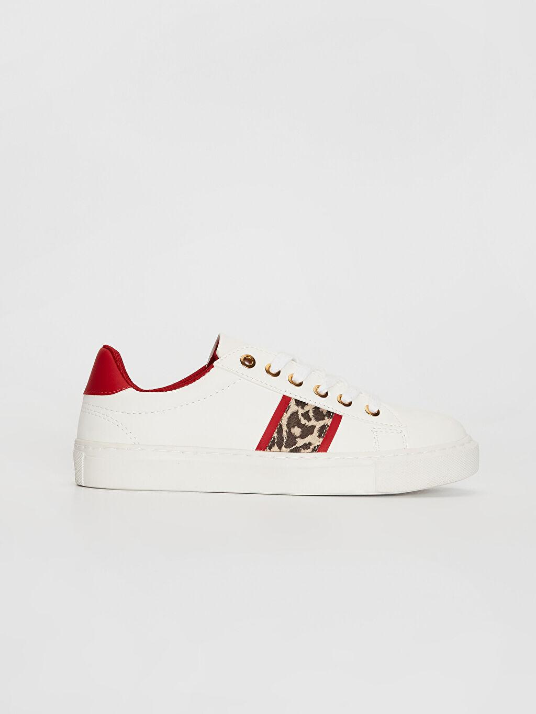 Beyaz Kadın Günlük Şık Spor Ayakkabı 0S2075Z8 LC Waikiki