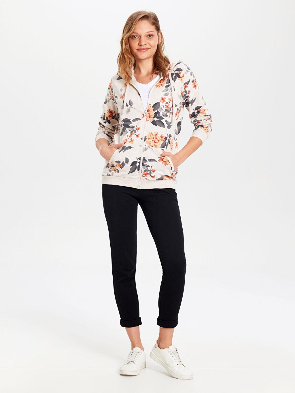 %67 Pamuk %33 Polyester Orta Kalınlık %100 Pamuk Uzun Kol İnce Sweatshirt Kumaşı Sweatshirt Desenli Kapüşonlu Sweatshirt