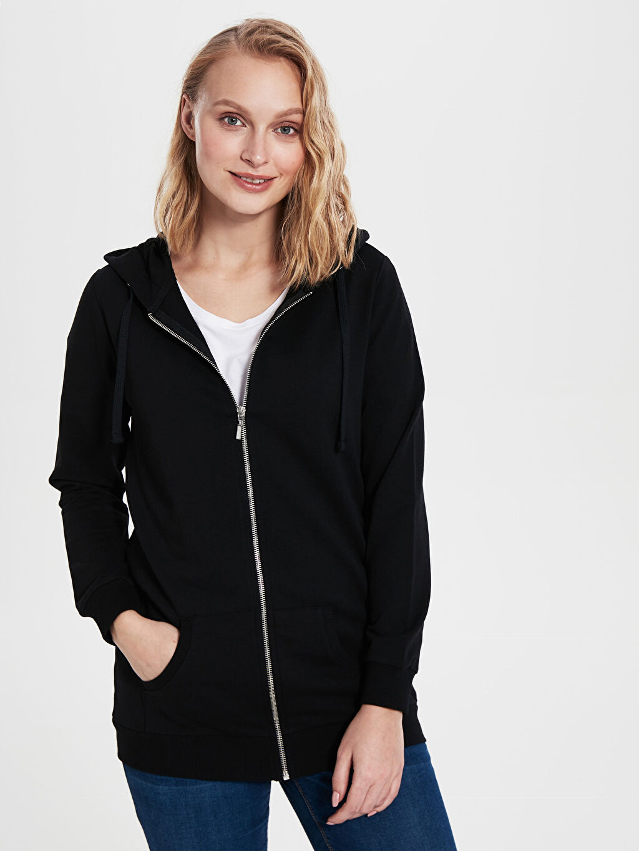 %100 Pamuk Orta Kalınlık %100 Pamuk Uzun Kol İnce Sweatshirt Kumaşı Sweatshirt Düz Kapüşonlu Sweatshirt