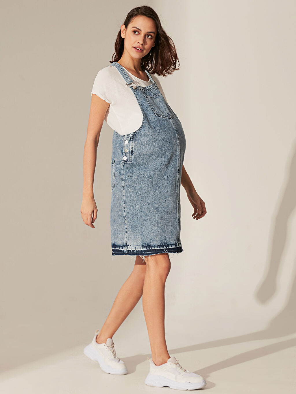 Mavi Jean Hamile Salopet Elbise 0S4662Z8 LC Waikiki