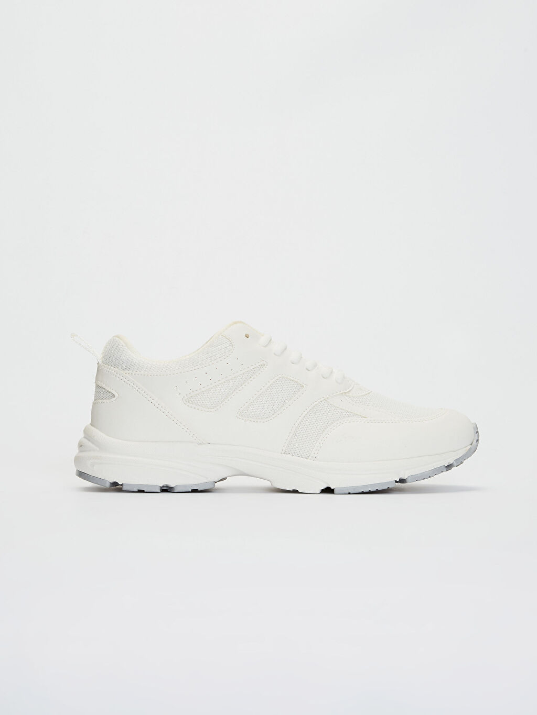Beyaz Kadın Yürüyüş Spor Ayakkabı 0S5420Z8 LC Waikiki