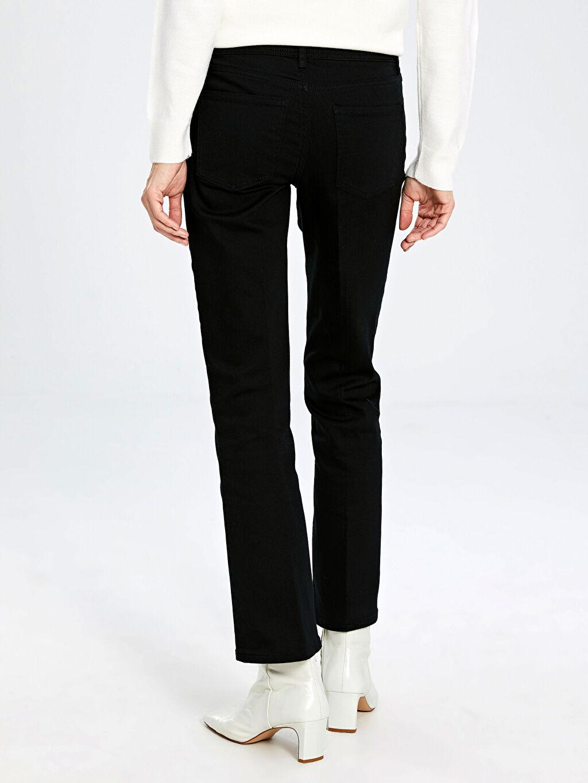 Kadın Normal Bel Jean Pantolon