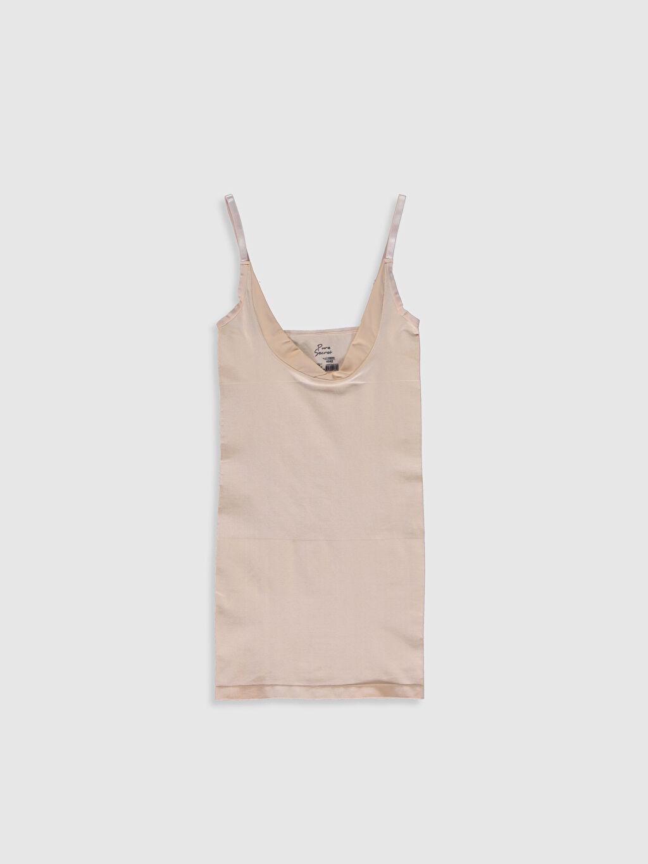Pembe Dikişsiz Elbise Korse 0S9573Z8 LC Waikiki