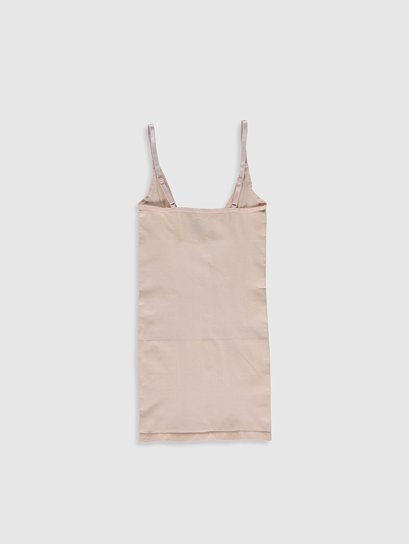 Standart Korse U Yaka Dikişsiz Elbise Korse
