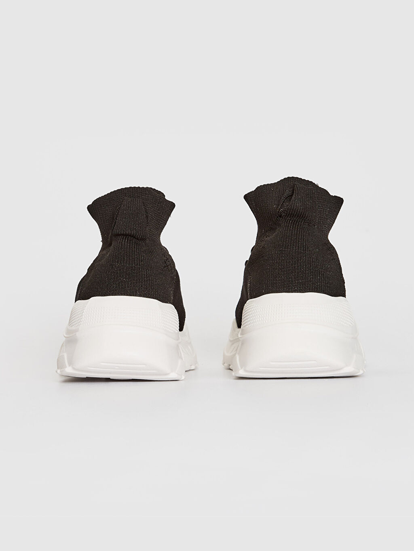 Kadın Kalın Tabanlı Bilekli Çorap Model Spor Ayakkabı