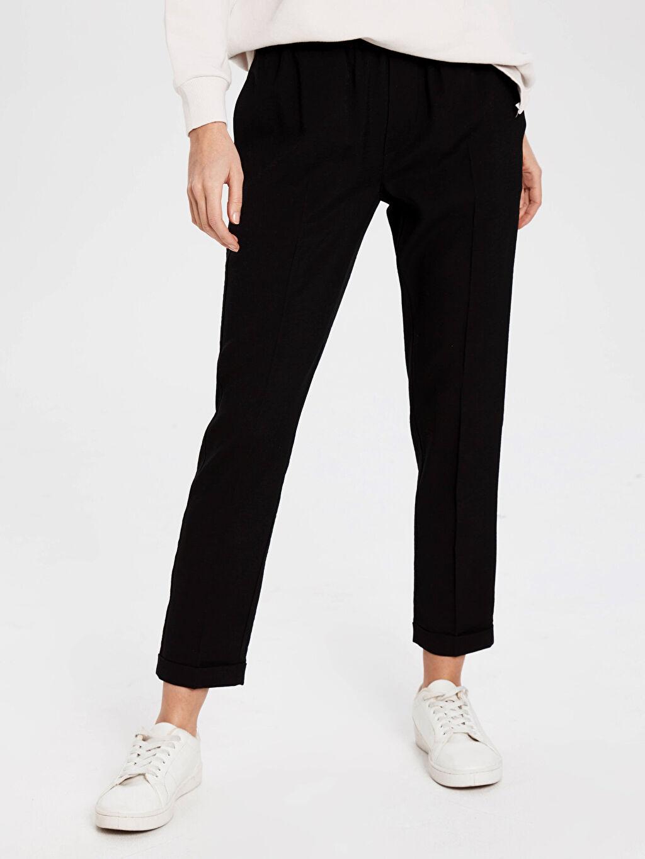 Kadın Dokulu Harem Pantolon