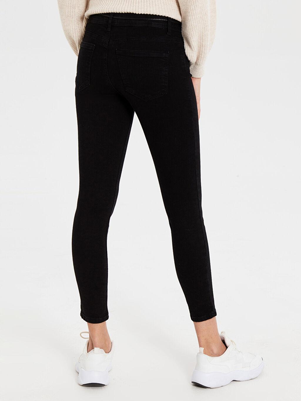 Kadın Normal Bel Dar Jean Pantolon
