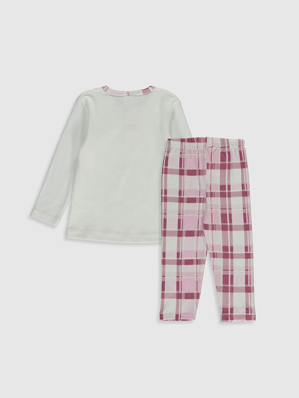 Pijama Takım Luggi Baby Kız Bebek Desenli Pijama Takımı