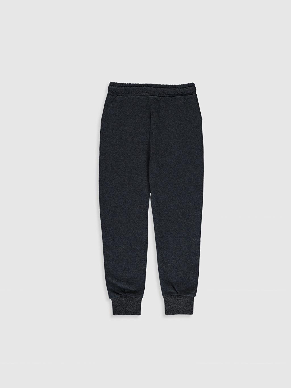 %63 Pamuk %37 Polyester Orta Kalınlık İnce Sweatshirt Kumaşı Eşofman Altı Düz Erkek Çocuk Jogger Eşofman Altı