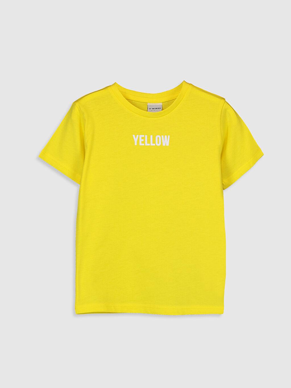 %100 Pamuk İnce Bisiklet Yaka Kısa Kol Düz Penye Tişört %100 Pamuk Erkek Çocuk Pamuklu Basic Tişört