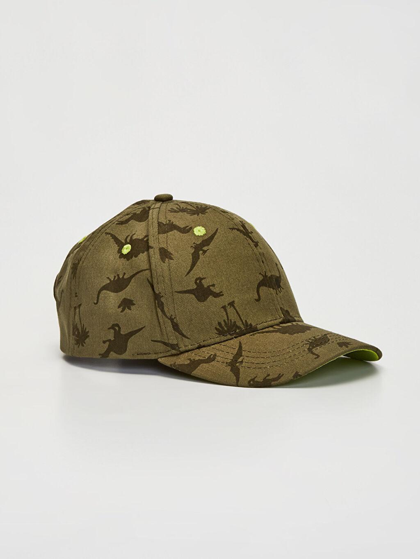 Haki Dinazor Baskılı Şapka 0S0930Z4 LC Waikiki