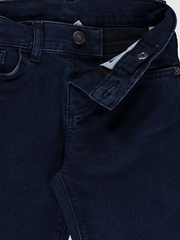 %76 Pamuk %21 Polyester %3 Elastan Erkek Çocuk Jean Pantolon