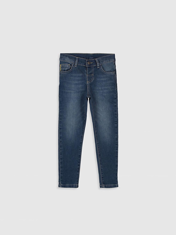 İndigo Erkek Çocuk Skinny Jean Pantolon 0S1111Z4 LC Waikiki