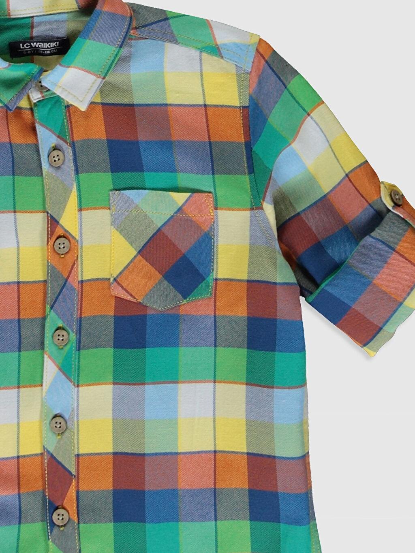 Erkek Çocuk Erkek Çocuk Ekose Twill Gömlek