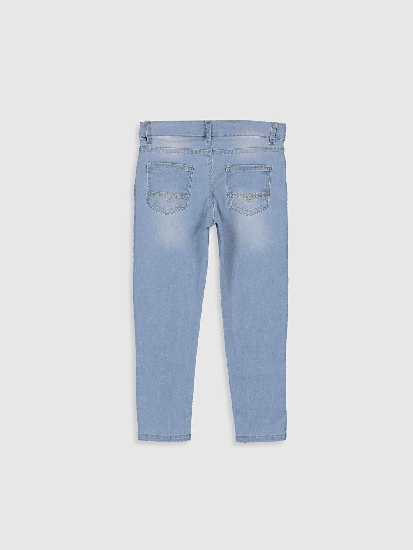%90 Pamuk %7 Polyester %3 Elastan Beş Cep Orta Kalınlık Düz Aksesuarsız Normal Bel Astarsız Dar Jean Erkek Çocuk Skinny Jean Pantolon
