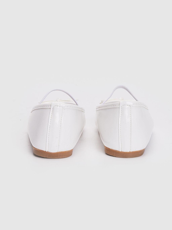 LC Waikiki Beyaz Kız Çocuk 25-30 Numara Babet Ayakkabı