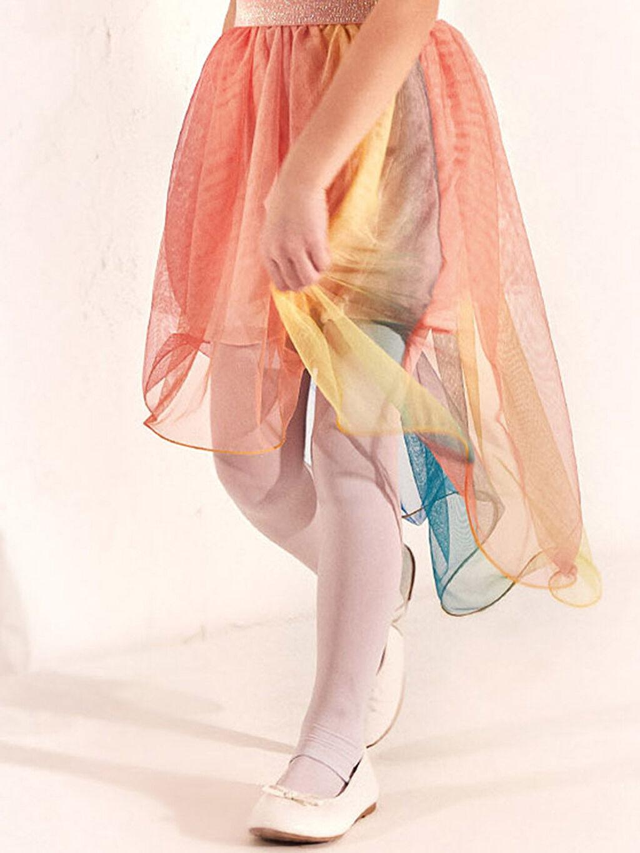 Beyaz Kız Çocuk 25-30 Numara Babet Ayakkabı 0S2333Z4 LC Waikiki
