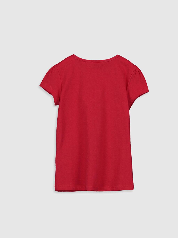 %100 Pamuk %100 Pamuk Penye Standart Tişört Bisiklet Yaka Kısa Kol Düz İnce Kız Çocuk Pamuklu Basic Tişört