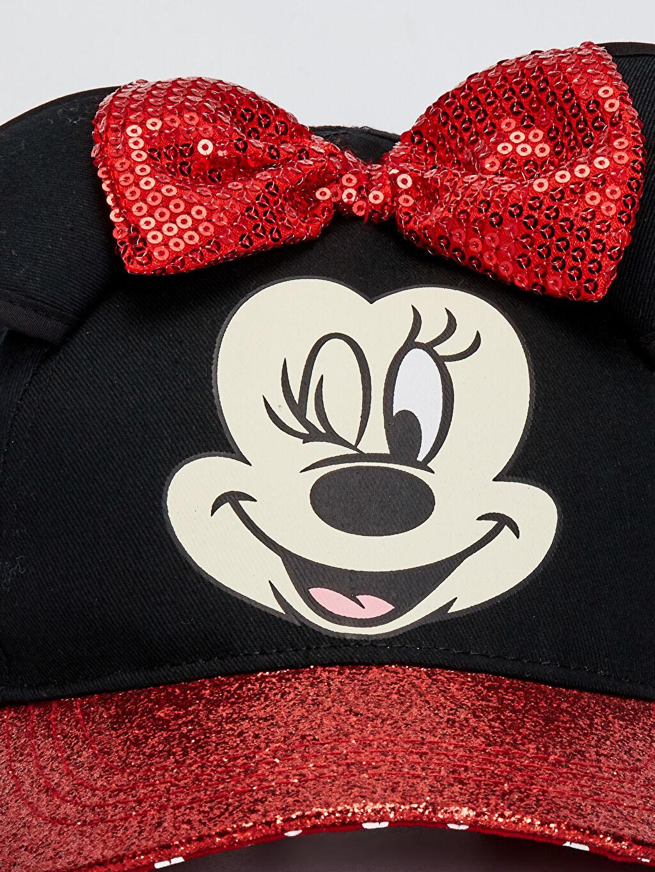 Kız Çocuk Kız Çocuk Minnie Mouse Lisanslı Simli Şapka