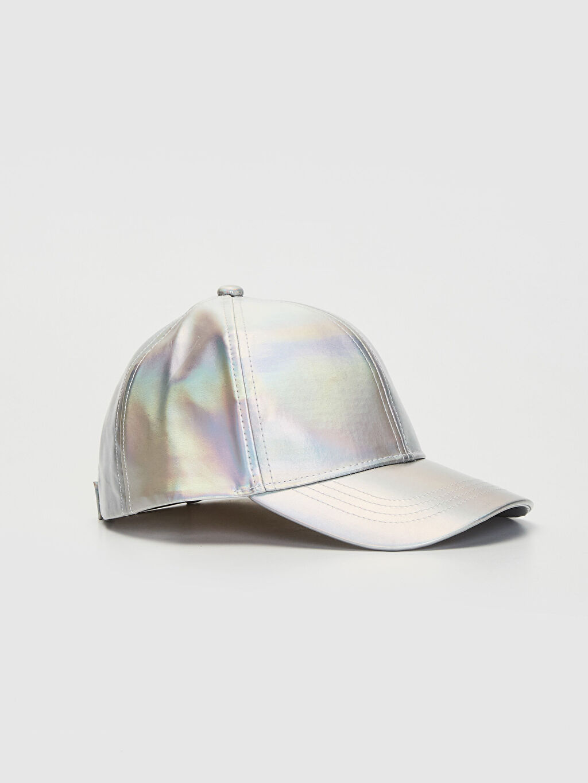 Şapka Kep Astarsız Kız Çocuk Hologram Şapka