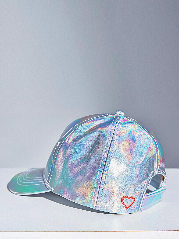Gri Kız Çocuk Hologram Şapka 0S2708Z4 LC Waikiki